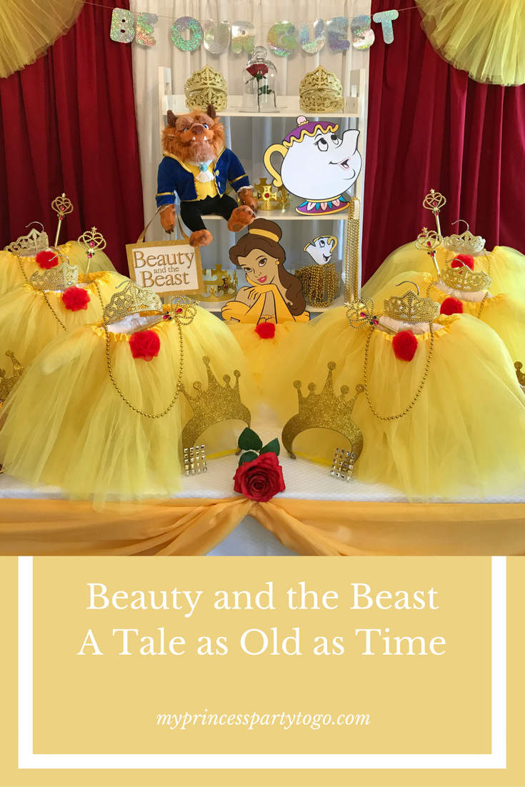 Disney\'s Classic Fairy Tale Beauty and the Beast comes alive with ...
