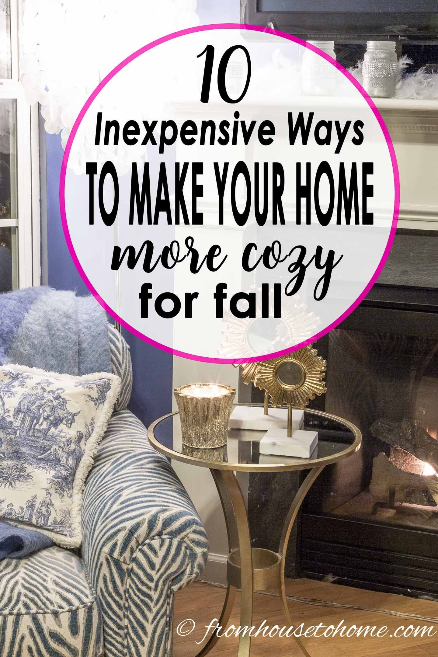 11 Ways To Make The Most Of Your Dorm Room: 11 Inexpensive Ways To Make Your Home More Cozy For Fall