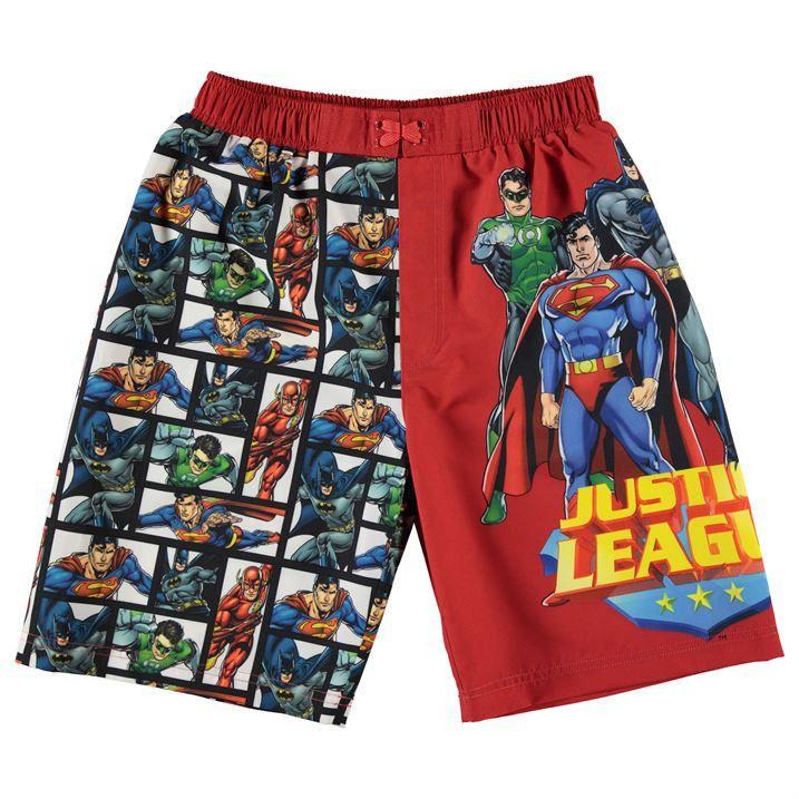 DC Comics Boys Justice League Swim Shorts