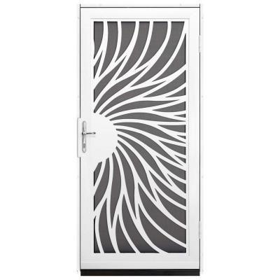Unique Home Designs 36 in. x 80 in. Solstice White Surface M…