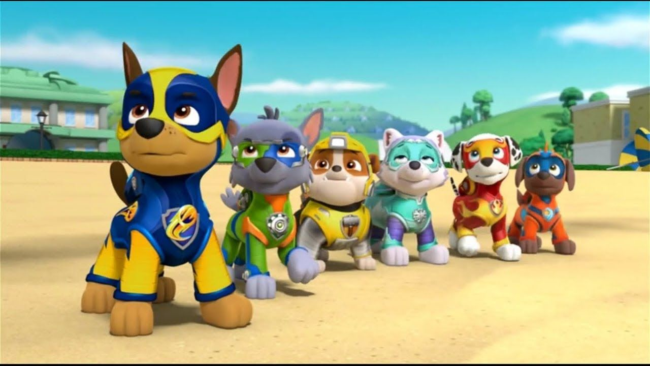 Paw Patrol Mighty Pups vs PJ Mask My Talking Tom Face Swap