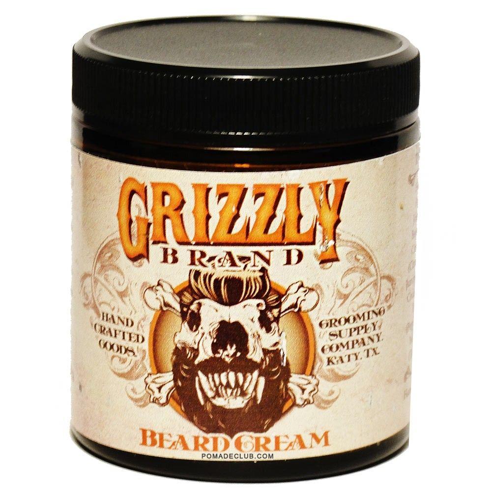 Grizzly Brand Beard Cream 4oz