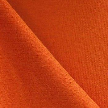 Tissu sweat carotte x 10cm 10€/m poids 620 gr : ml