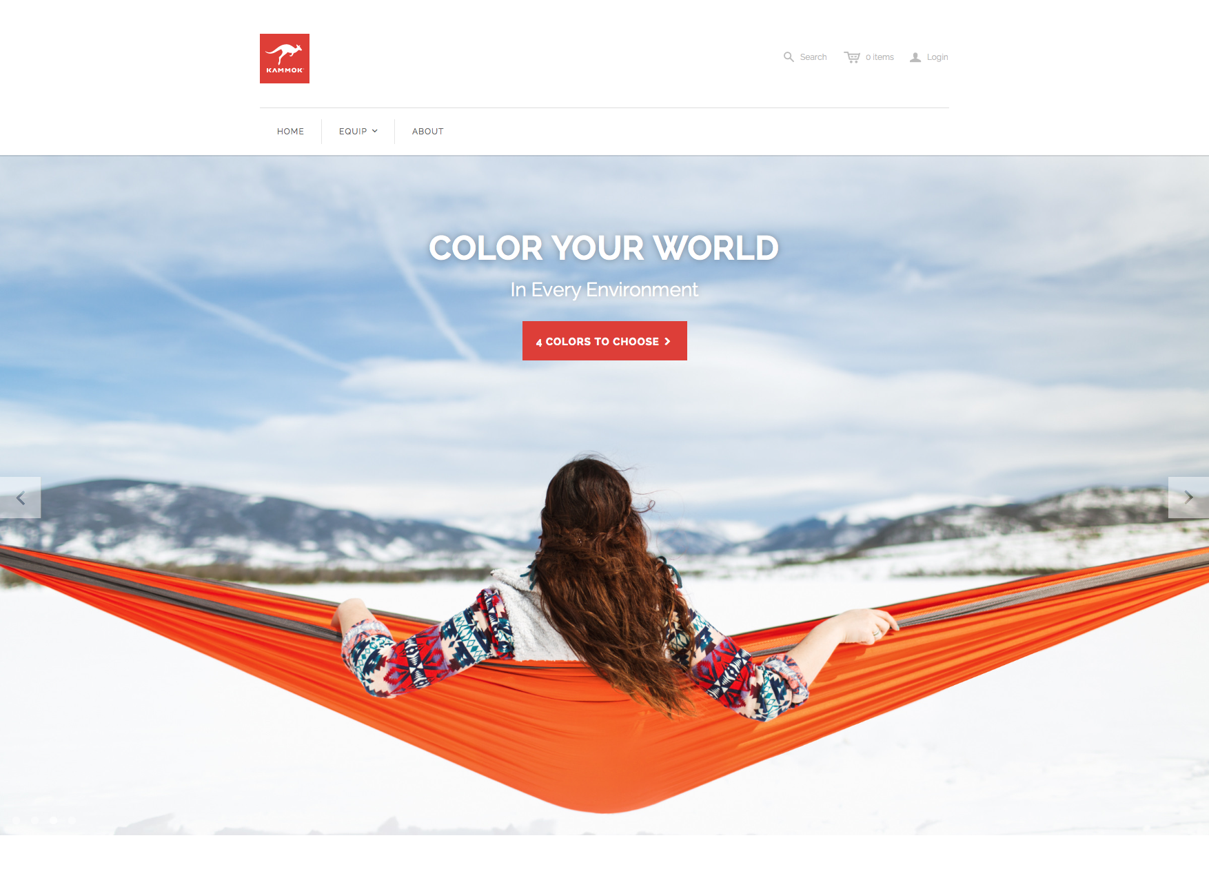 We just launched our brand new website last week and it is amazing! Check it out at http://www.kammok.com #hammock #outdoors #camping