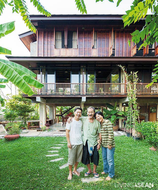Contemporary Tropical House Tanga House: บ้านเก่า, บ้านในฝัน, การ
