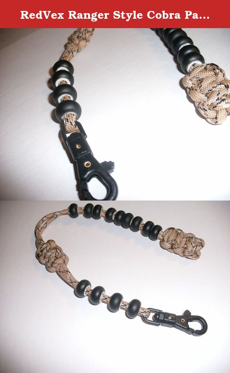Redvex Ranger Style Cobra Pace Counter Beads Paracord Survival