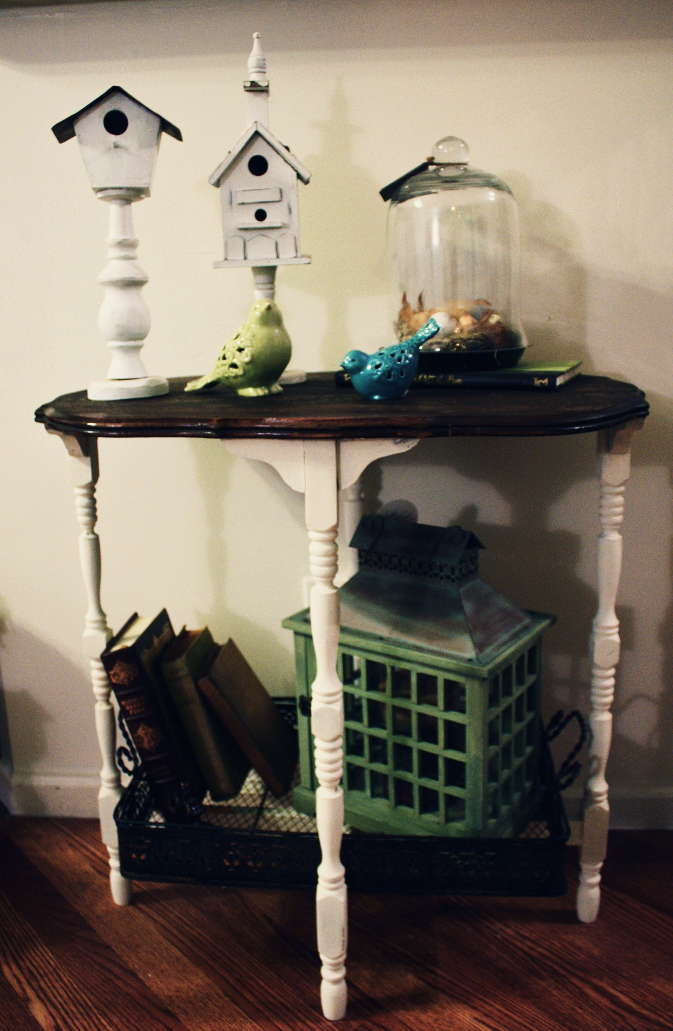 before and after photo of dresser turned console unit # ... |Repurposed Furniture Before And After
