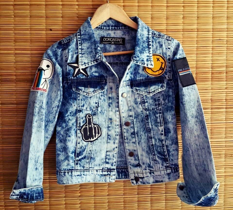 074bb4acd12 Campera de jeans con parches Nevada - Ventas por mayor