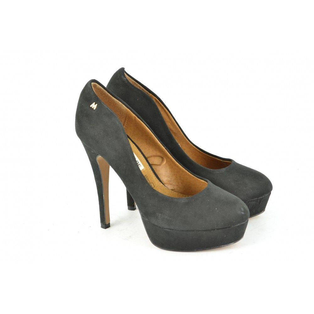 Zapato Señora Zapato Tacon Bajo Negro Otoño / Invierno Mariamare yGn5E