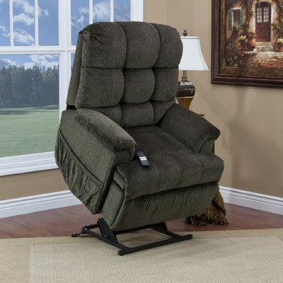 Med Lift 5555 Series Sleeper Reclining Lift Chair With Extra Magazine Pocket Upholstery Cabo Sage Recliner Best Recliner Chair Chair