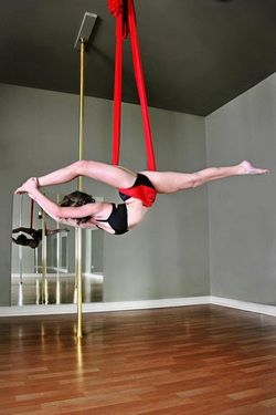 aerial hammock sling 8 yards double or single point white fabric rainbow marchenko   oh my freaking gosh    aerial   pinterest      rh   pinterest