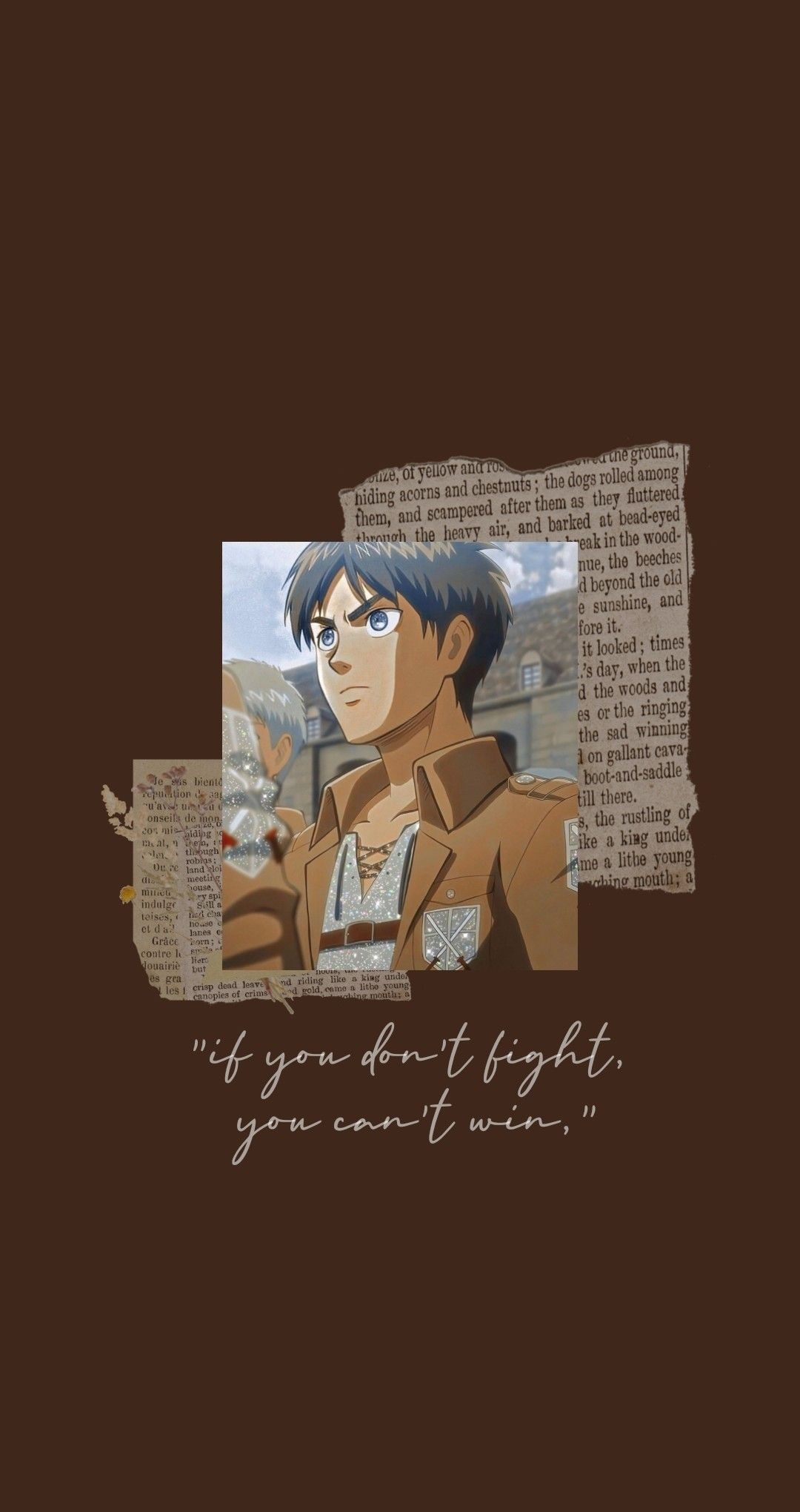 Aesthetic Eren Wallpaper In 2020 Cute Anime Wallpaper Anime Wallpaper Anime Wallpaper Iphone