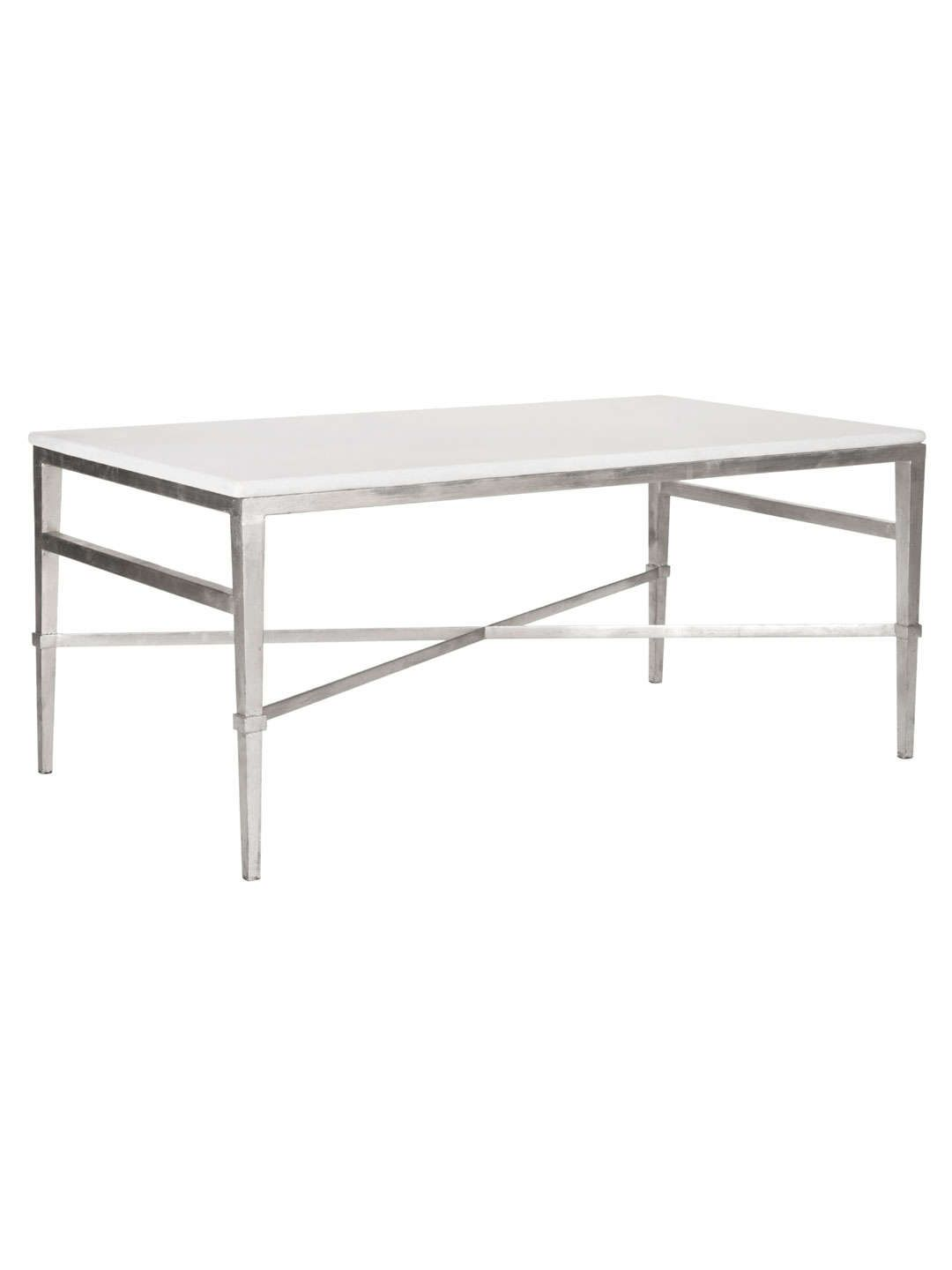 Silver marble acker coffee table home pinterest marbles