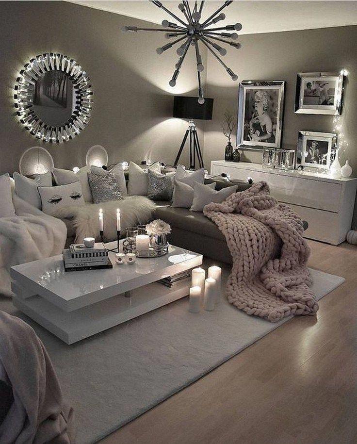 48 Cozy Farmhouse Living Room Decor Ideas That Make You ...