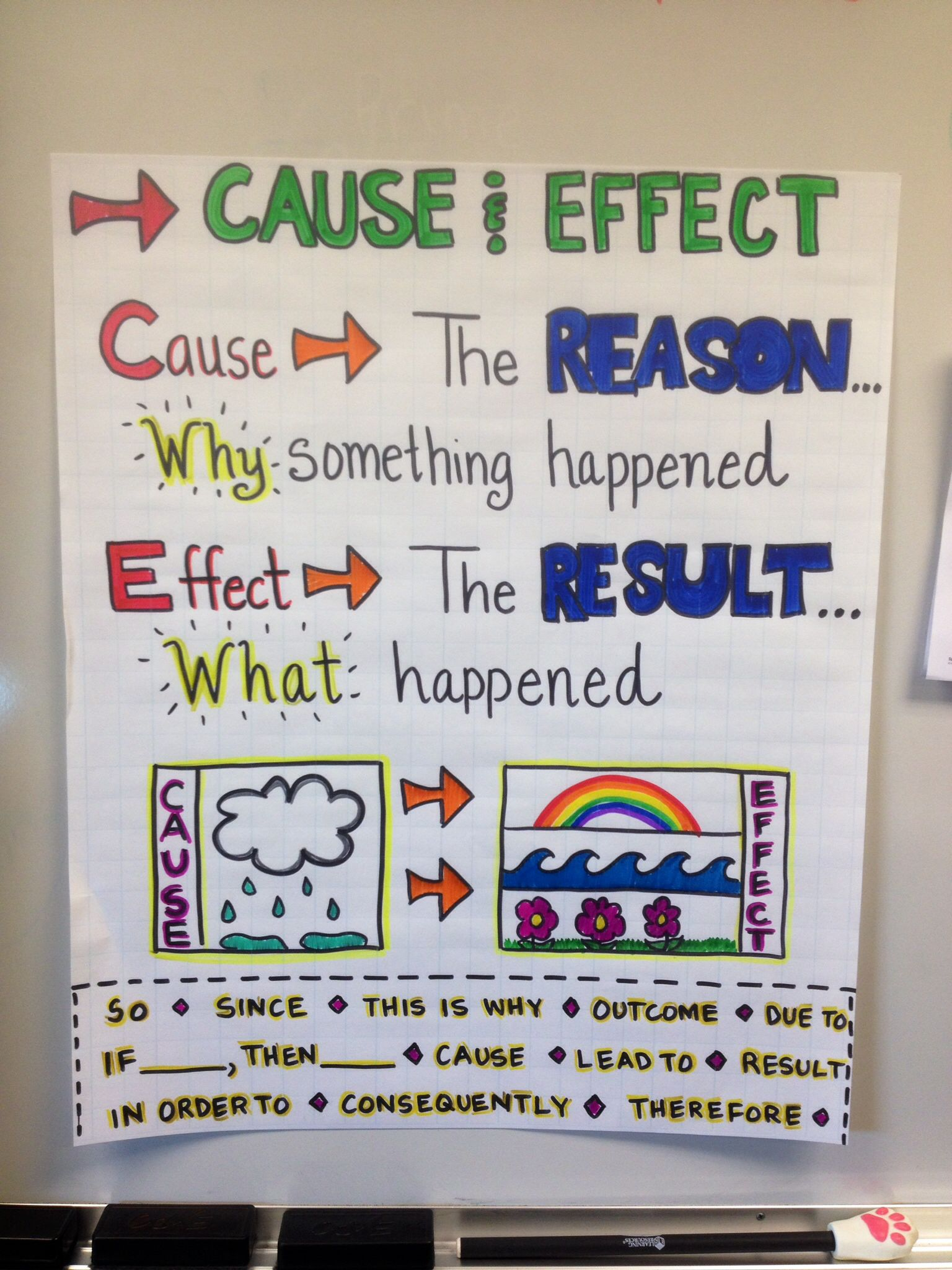 Th Grade Cause And Effect Worksheets