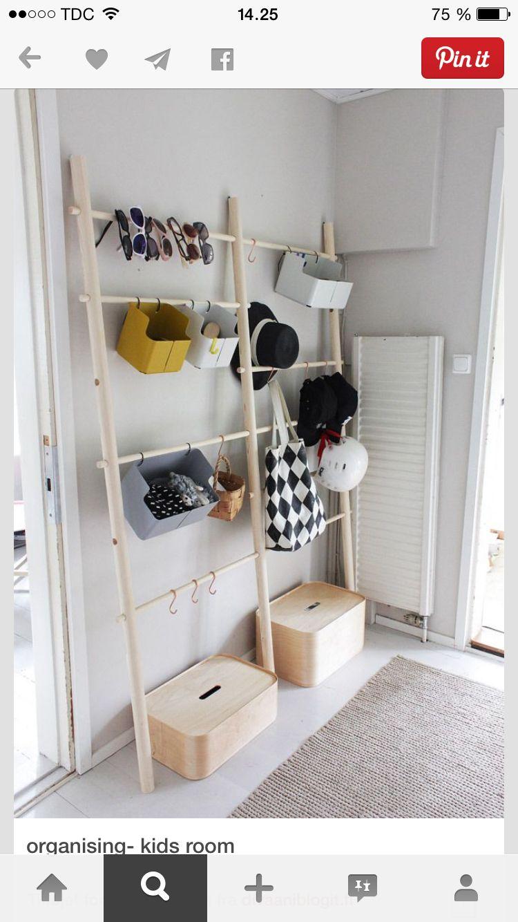 Hallway storage rack  Nydeligt   SH Shops  Pinterest  Display