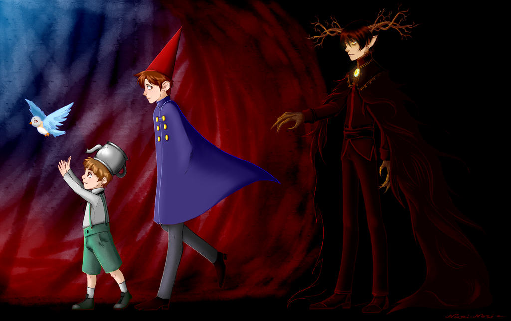 Over The Garden Wall With Beatrice Gregory Wirt And The Beast In Order Of Course Over The