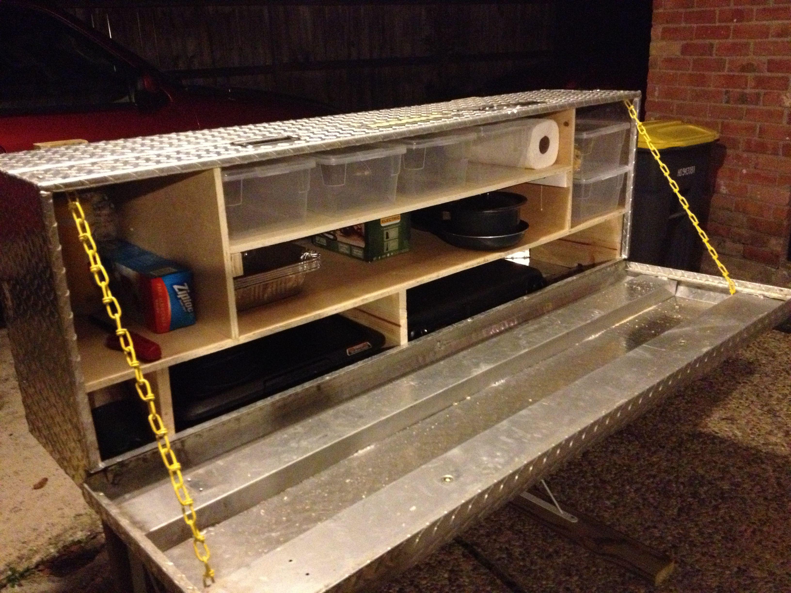 Turn a tool box into a Chuck Box | Munch, Munch, Munch ...