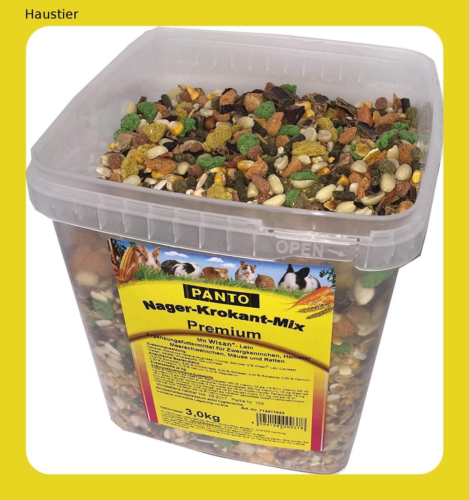 Panto 712411043 Nager Krokant Premium Mix Krokant Hunde Futter Haustier