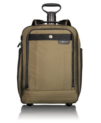 Tumi Luggage T-tech Gateway Harbin Wheeled Backpack, Moss, One Size TUMI.   295.00. Made in China. Top carry handle and telescoping handle. 31a5a1ab25