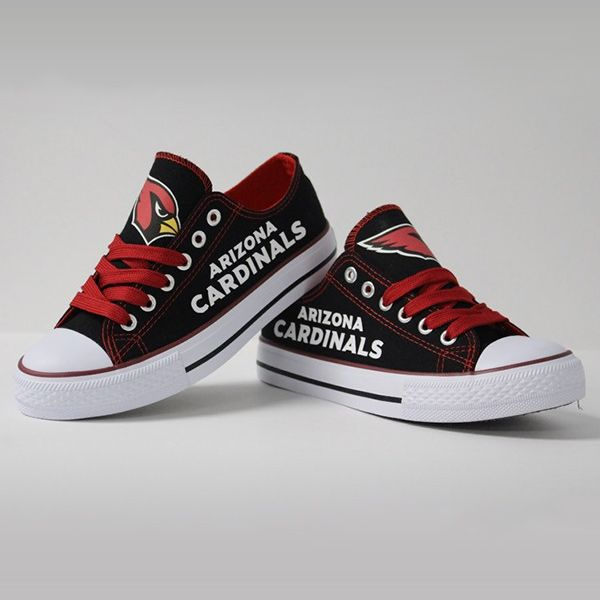 Arizona Cardinals Converse Style Sneakers - http://cutesportsfan.com/arizona-cardinals-designed-sneakers/
