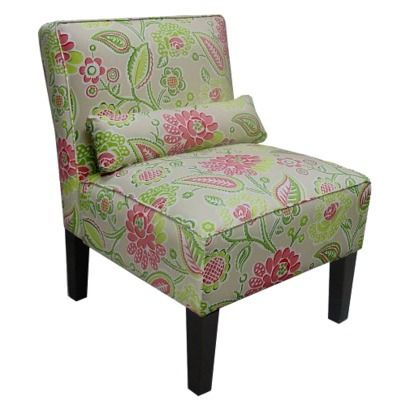 Like this chair... but don't think it will go with anything in the house!