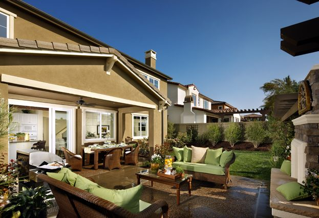 Outdoor Living At Carleton By Standard Pacific Homes