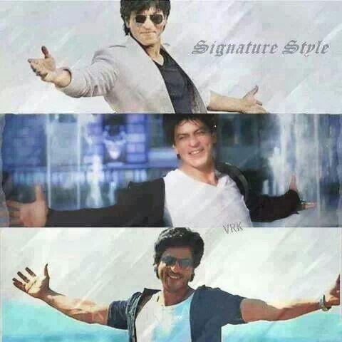 SRK - Signature style!