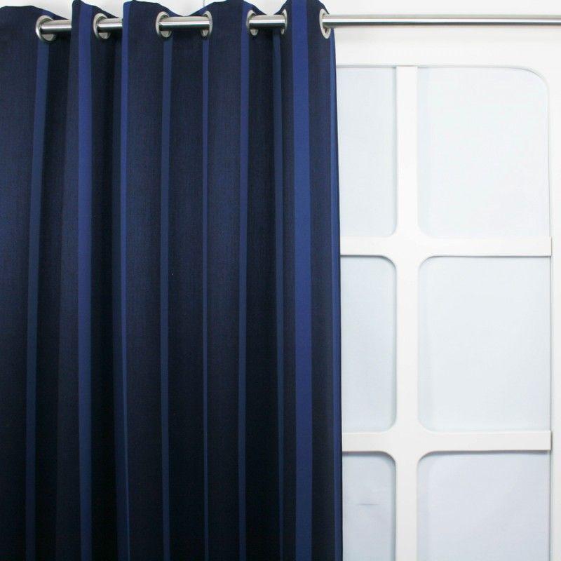 Gordijnen - Verduister Streep Blauw || Hippe gordijnen ...