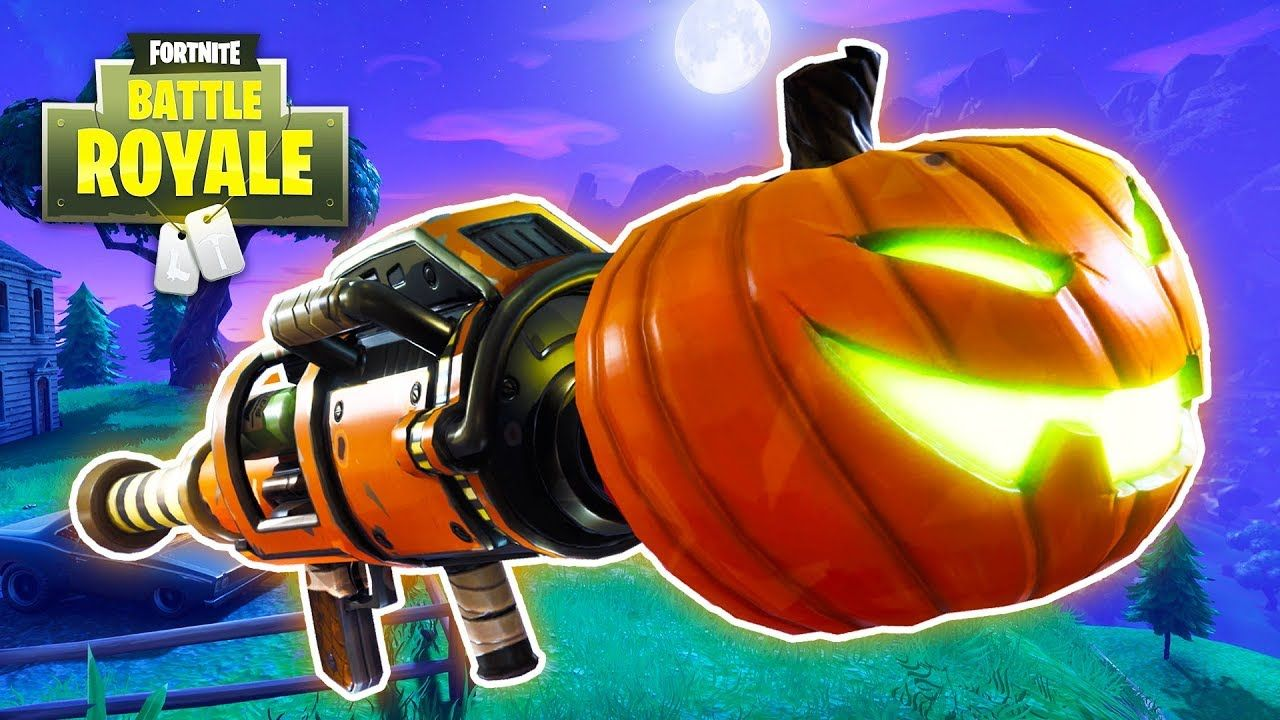 Legendary Victory Halloween Update Fortnite Battle