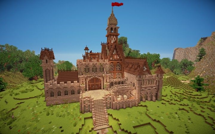 Me val Project 3 Castle Minecraft Map