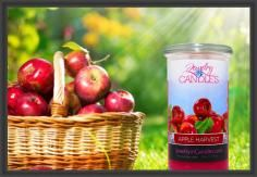 Apple Harvest envokes the smell of crisp fall days. The smell of this #jewelry #candle brings to life everything there is to love about #apples! Crisp, juicy, with just a hint of spice; you will think you've just used an apple press, without even leaving your couch! Apple Harvest Jewelry Candles.  This apple fragrance is infused with natural cinnamon, nutmeg, clove, orange, and cedarwood essential oils.