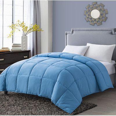 Luxury Home Paradise Comforter Size: Full / Queen, Color: Blue