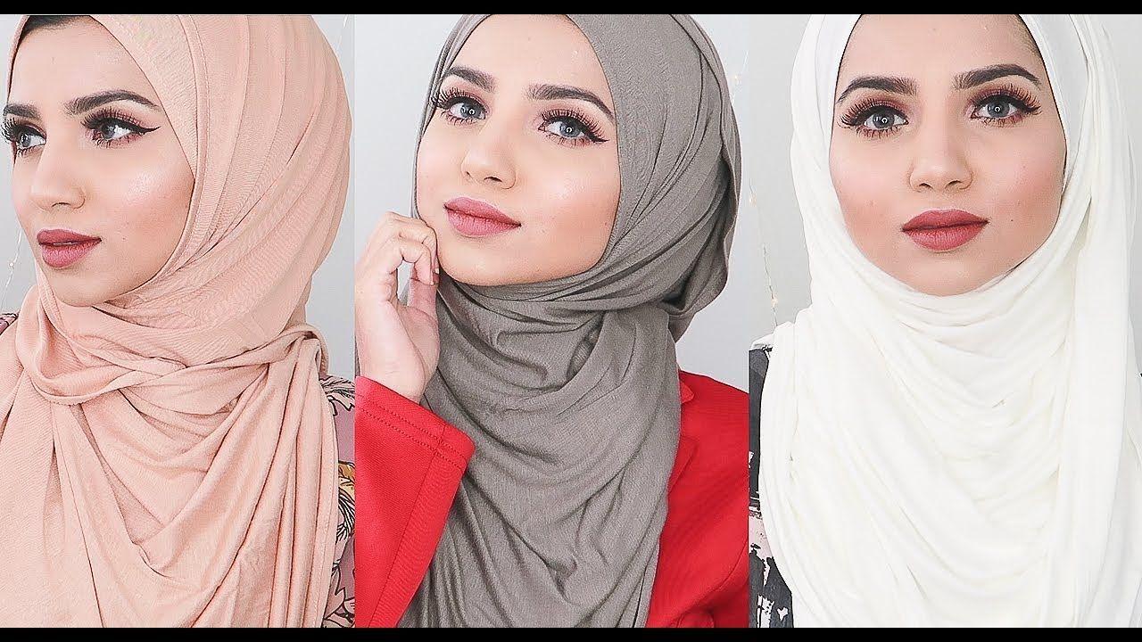 Simple Full Coverage Hijab Styles Youtube In 2020 Hijab Style Tutorial How To Wear Hijab Dubai Khalifa