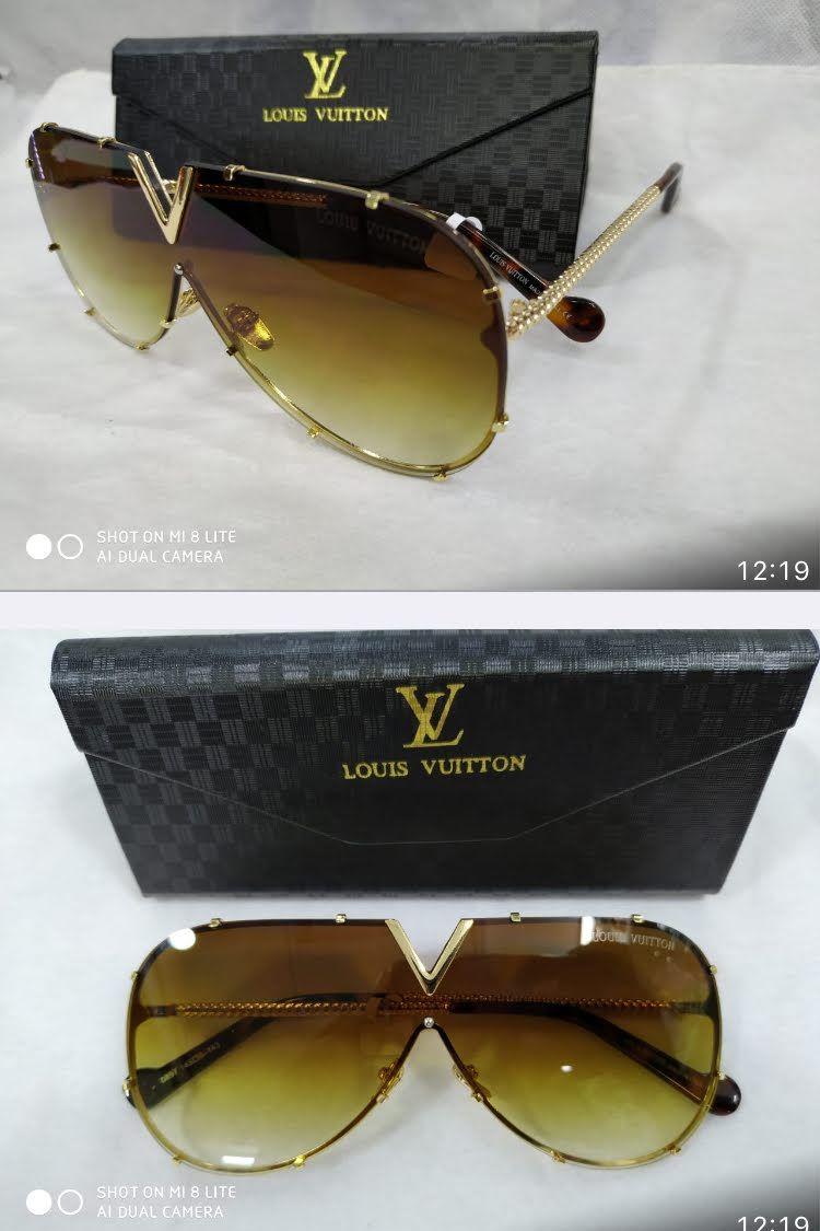 375580a1b0 ÓCULOS DE SOL LOUIS VUITTON DRIVE EVIDENCE LUXO  MARROM todos os nosso  oculos contém proteção