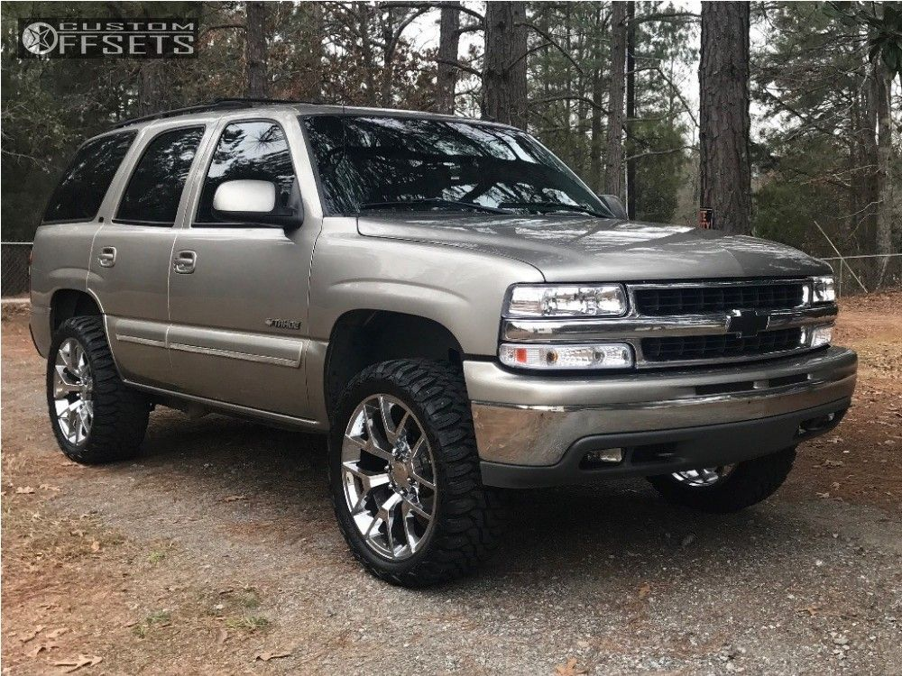12 2002 Tahoe Chevrolet Body Lift 3 Replica Wheels Other