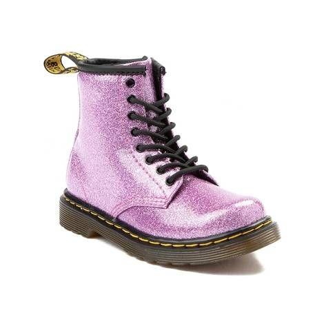 44dd00ef6b8 Girls Toddler Dr. Martens 1460 8-Eye Glitter Boot - pink - 99573138