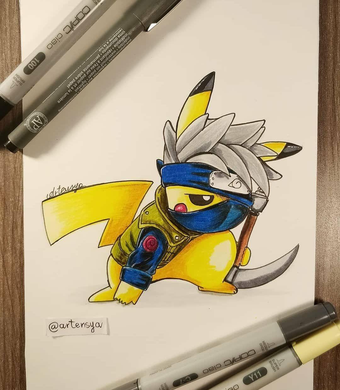 anime_feature anime manga Pikachu art, Cute pokemon