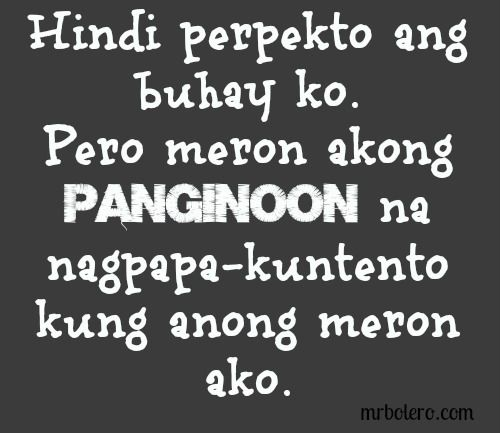 Facebook Quotes About Life Tagalog