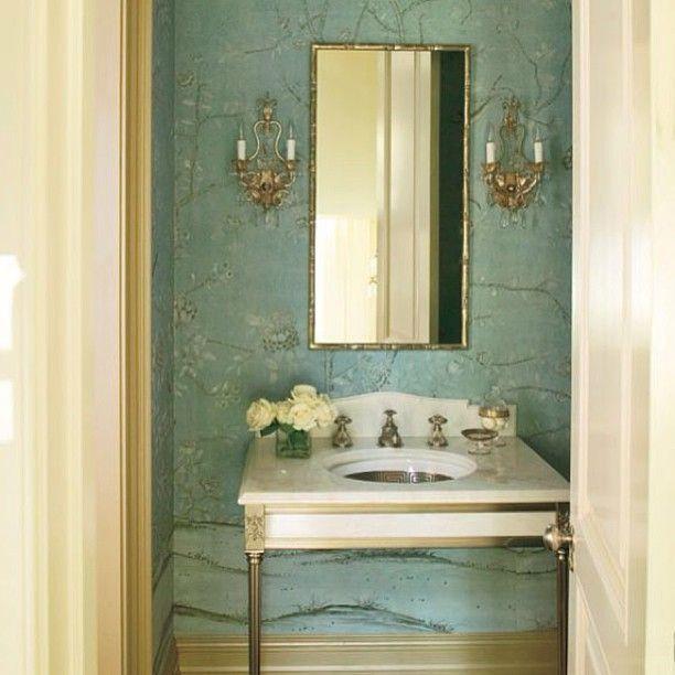 Veranda Magazine Bedrooms Do Love A Good Powder Room Especially