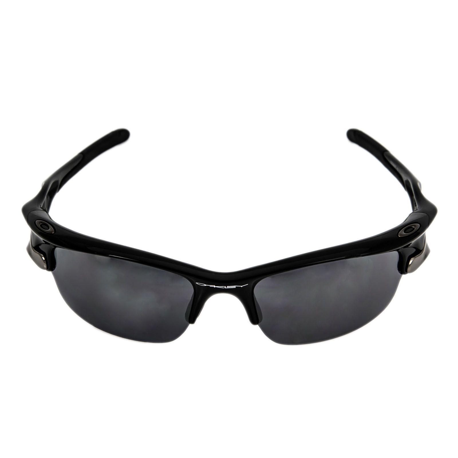 5397a4266f5 Oakley OO9097-16 Men s Fast Jacket XL Polished Black Plastic Frame Black  Iridium   P42 Iridium Lenses Sunglass ...