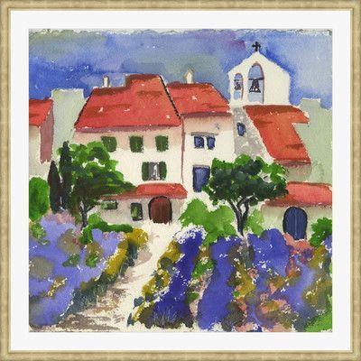 Melissa Van Hise 'Toscana Summer' by Pat Ryan Framed Painting Print