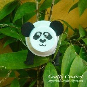 Bottle Panda - Fun Family Crafts