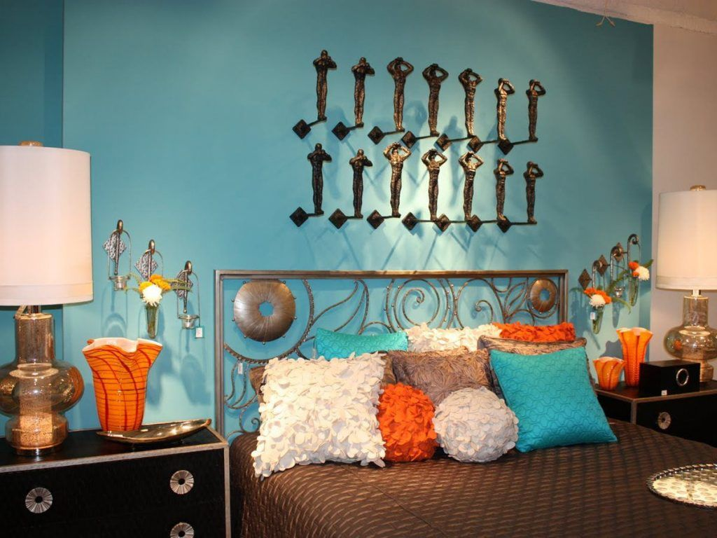 20 gorgeous turquoise room decorations and designs - Turquoise Home Decor Accessories