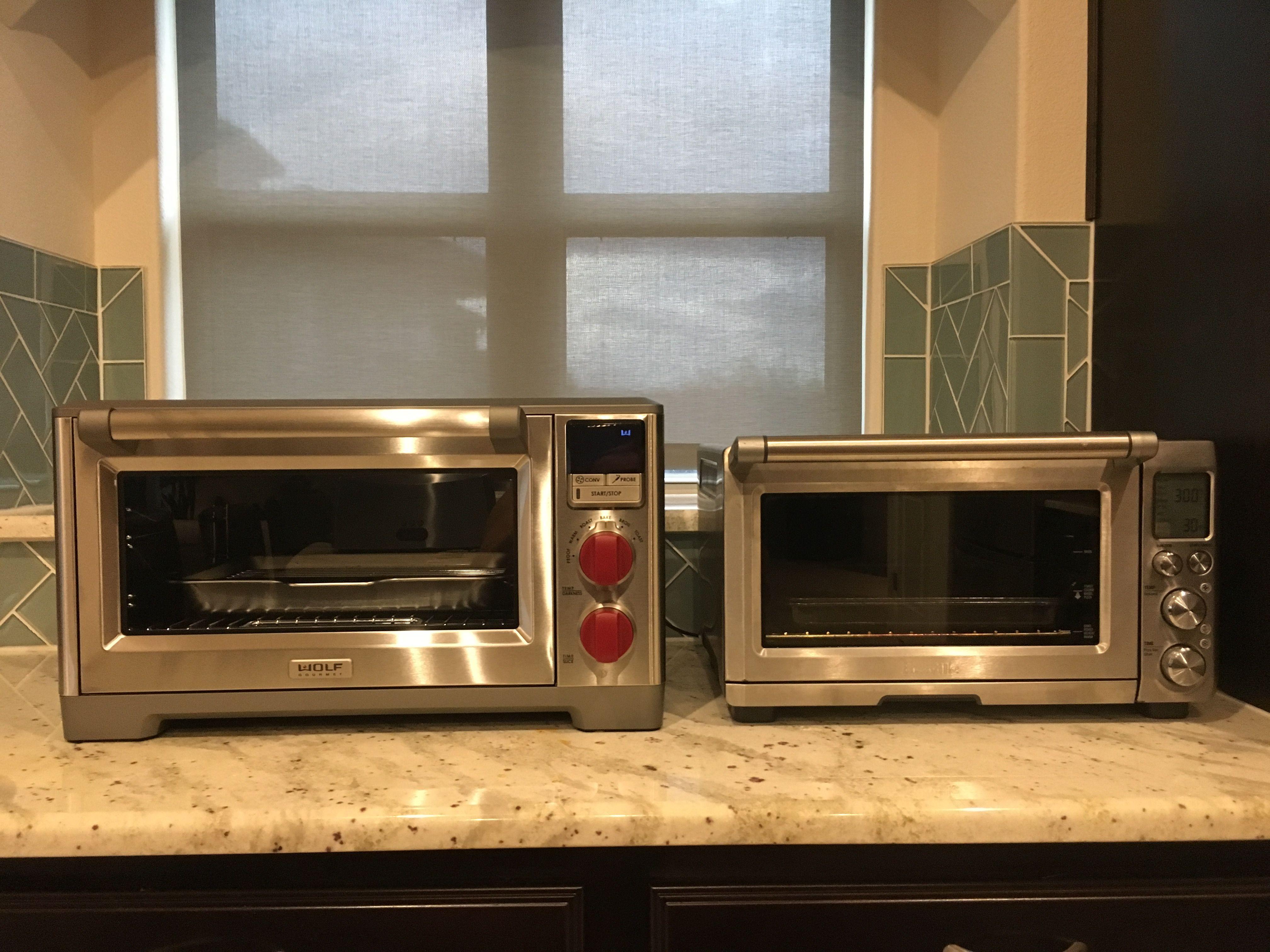Wolf Countertop Oven Vs Breville Smart Oven Countertop Oven