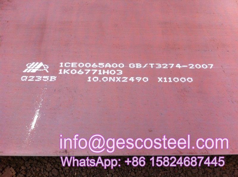 Jis3101 Ss490 Steel Plate Sheet Plates, Steel plate, 10