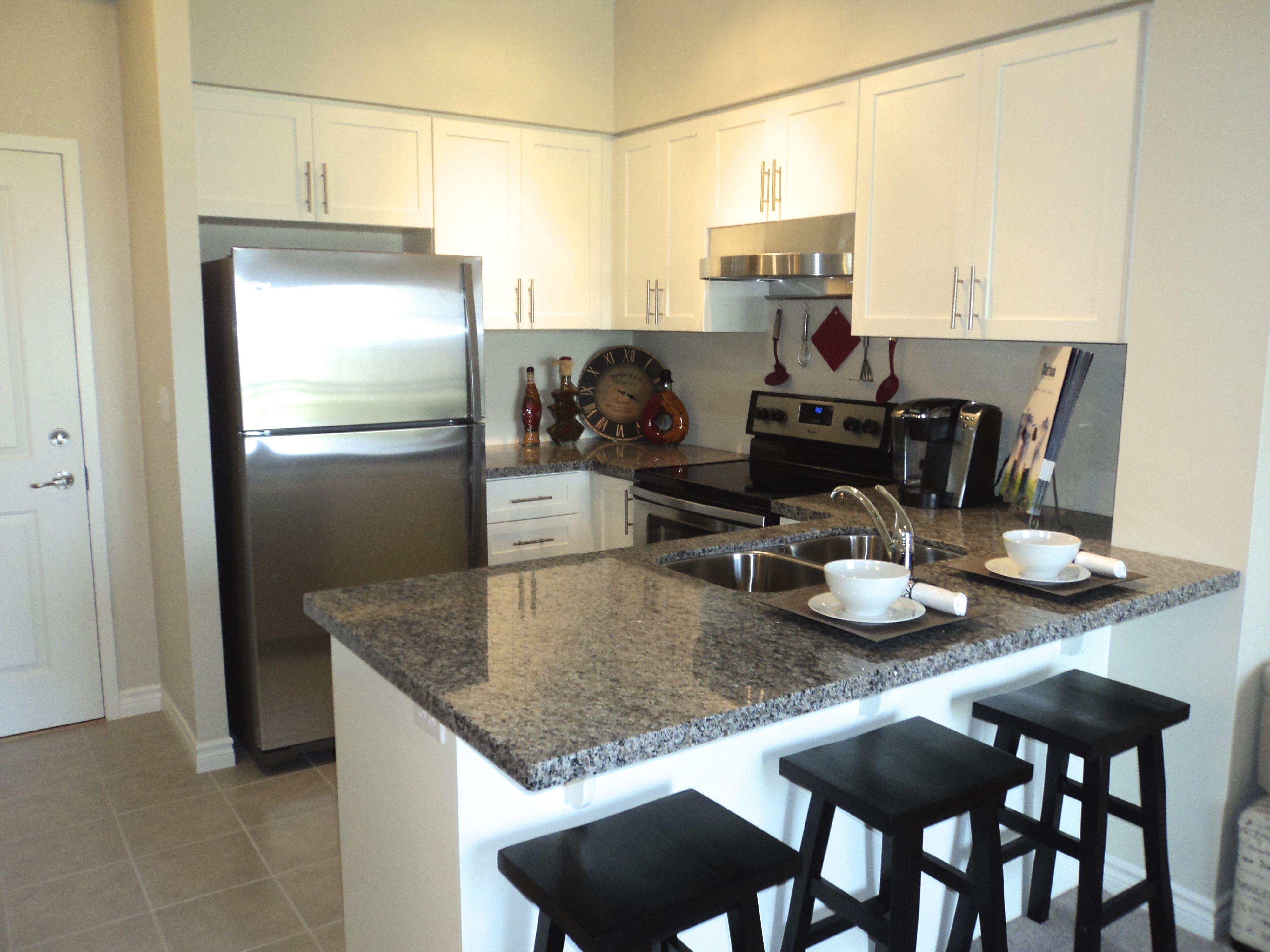 Staged condo kitchen btsh staging kitchen