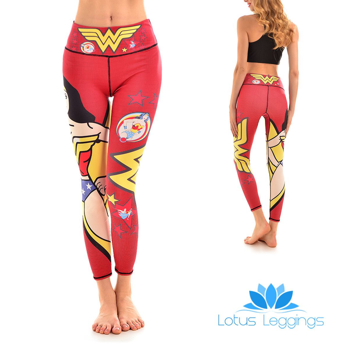 Lotusx Amazon Woman Leggings Lotus Leggings Wonder Woman