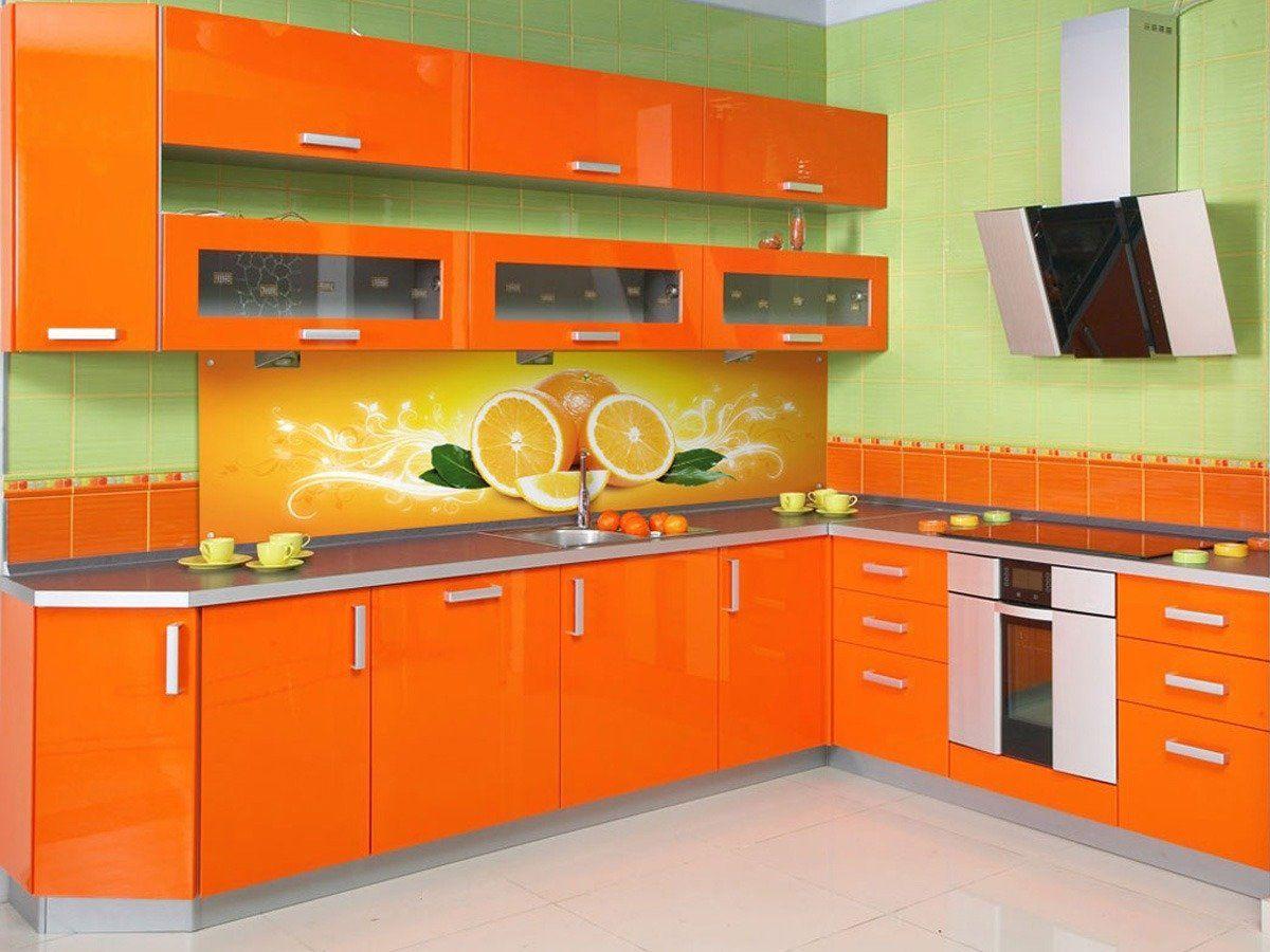 Gorgeous 10 Orange Kitchen Cabinets Decorating Ideas  Orange