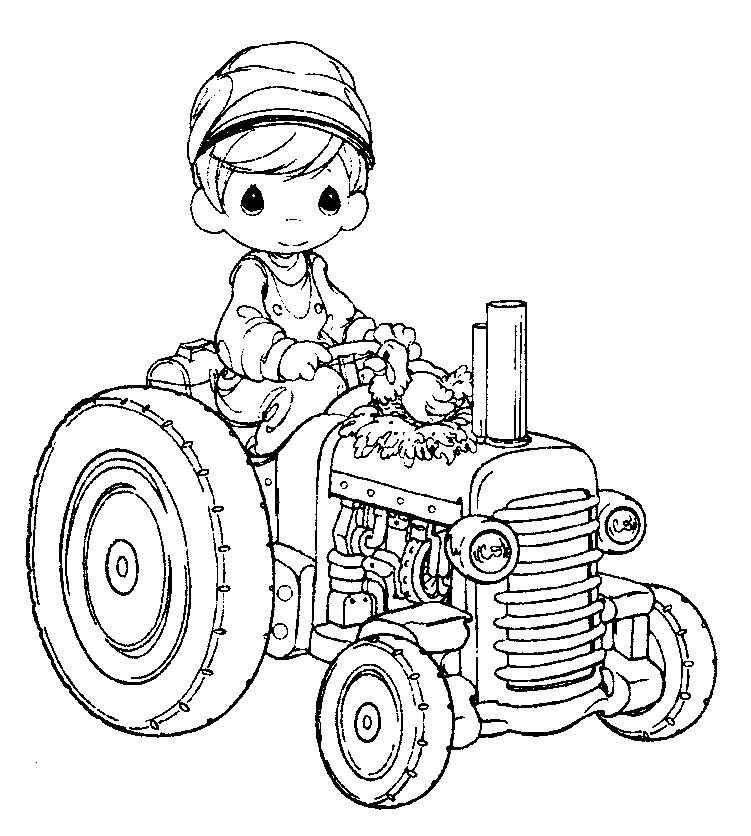 Free Farmer Coloring Page Paginas Para Colorir Desenhos De